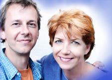 Série heureuse de couples Images stock