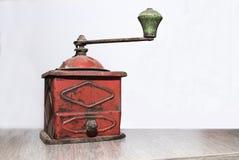 série I de machine de café de vintage photographie stock