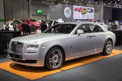 Série II de Rolls Royce Ghost photographie stock libre de droits