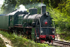 Série locomotive E Photographie stock