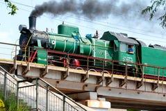 Série locomotive soviétique E Image stock