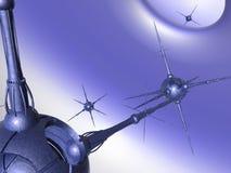 Série Nano #3 da tecnologia ilustração royalty free