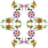 Série oitenta e dois do projeto dos motivos do otomano Imagem de Stock Royalty Free