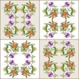 Série oitenta e quatro do projeto dos motivos do otomano Imagens de Stock Royalty Free