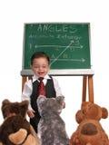 Série pequena do homem: Envolvendo acima a classe Imagem de Stock