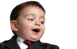 Série pequena do homem: Whoa! Prenda sobre! Imagens de Stock Royalty Free