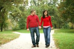 série romantique de couples Photos stock