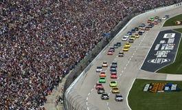Série Samsung de cuvette de NASCAR Sprint le 5 avril 500 image stock
