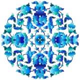 Série sessenta e três do projeto dos motivos do otomano Imagens de Stock