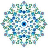 Série sessenta uma do projeto dos motivos do otomano Imagens de Stock Royalty Free