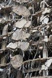 Série surpreendente da demolição Fotografia de Stock Royalty Free