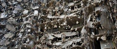 Série surpreendente da demolição Fotos de Stock Royalty Free