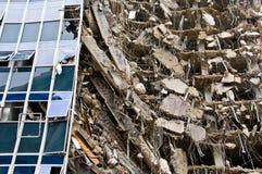 Série surpreendente da demolição Imagem de Stock