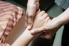Série tailandesa da massagem foto de stock royalty free