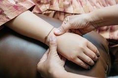 Série tailandesa da massagem fotografia de stock