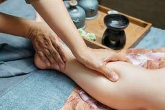 Série tailandesa da massagem imagens de stock royalty free