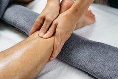 Série tailandesa da massagem Fotografia de Stock Royalty Free