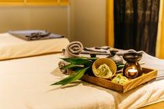 Série thaïlandaise de massage Images stock