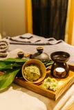 Série thaïlandaise de massage Images libres de droits