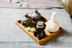 Série thaïlandaise de massage Photo stock