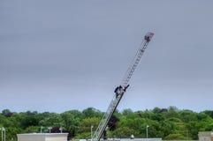 Série une de sapeur-pompier de huit Image libre de droits