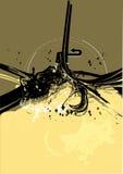 Série urbana No.1 de Grunge ilustração do vetor