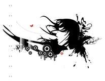 Série urbana No.5 de Grunge ilustração stock