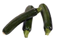 Série végétale (courgette) Photo libre de droits