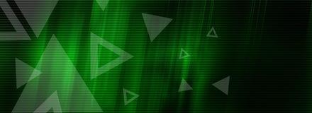Série verde do fundo Imagens de Stock