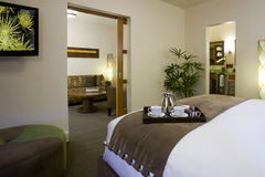 Séries e quartos de convidado em um hotel do boutique Fotografia de Stock Royalty Free