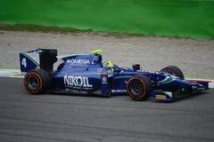 Séries GP2 Monza Leal du ¡ n de Julià 2014 Photos libres de droits