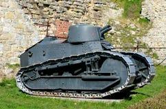 Sérvia militar revolucionária do museu de Belgrado do carro de combate leve de Renault FT 17 do francês Fotografia de Stock