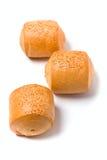 sésame trois de graines de pains Images stock