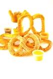 Sésamo del pretzel Fotos de archivo libres de regalías