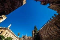 Séville, Espagne : La cathédrale photo libre de droits