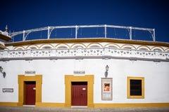 SÉVILLE - L'ESPAGNE : Plaza de Toros, vrai Maestranza Photo stock