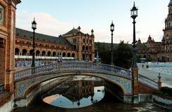 Séville, Plaza de Espana Images libres de droits