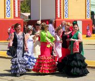 Séville Spain/1Seville l'Espagne le 16 avril 2013/touriste et gens du pays photo libre de droits