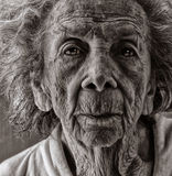 Sênior envelhecido fotografia de stock royalty free