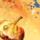 Símbolo-Abóbora de Halloween ilustração stock