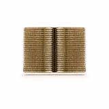 Símbolo aberto do livro do bronze Imagem de Stock Royalty Free