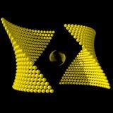 Símbolo abstracto Stock de ilustración