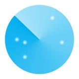 Símbolo abstracto del icono del radar Fotos de archivo libres de regalías