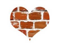 Símbolo abstrato do amor ilustração do vetor