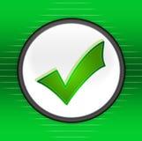 Símbolo aceptable Fotos de archivo libres de regalías