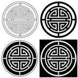 Símbolo afortunado chinês Ilustração Royalty Free