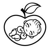 Símbolo alegórico de la maternidad Foto de archivo