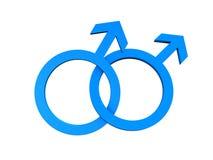 Símbolo alegre homosexual stock de ilustración