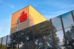 Símbolo alemão do banco de poupança Foto de Stock