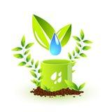 Símbolo ambiental Ilustração Royalty Free
